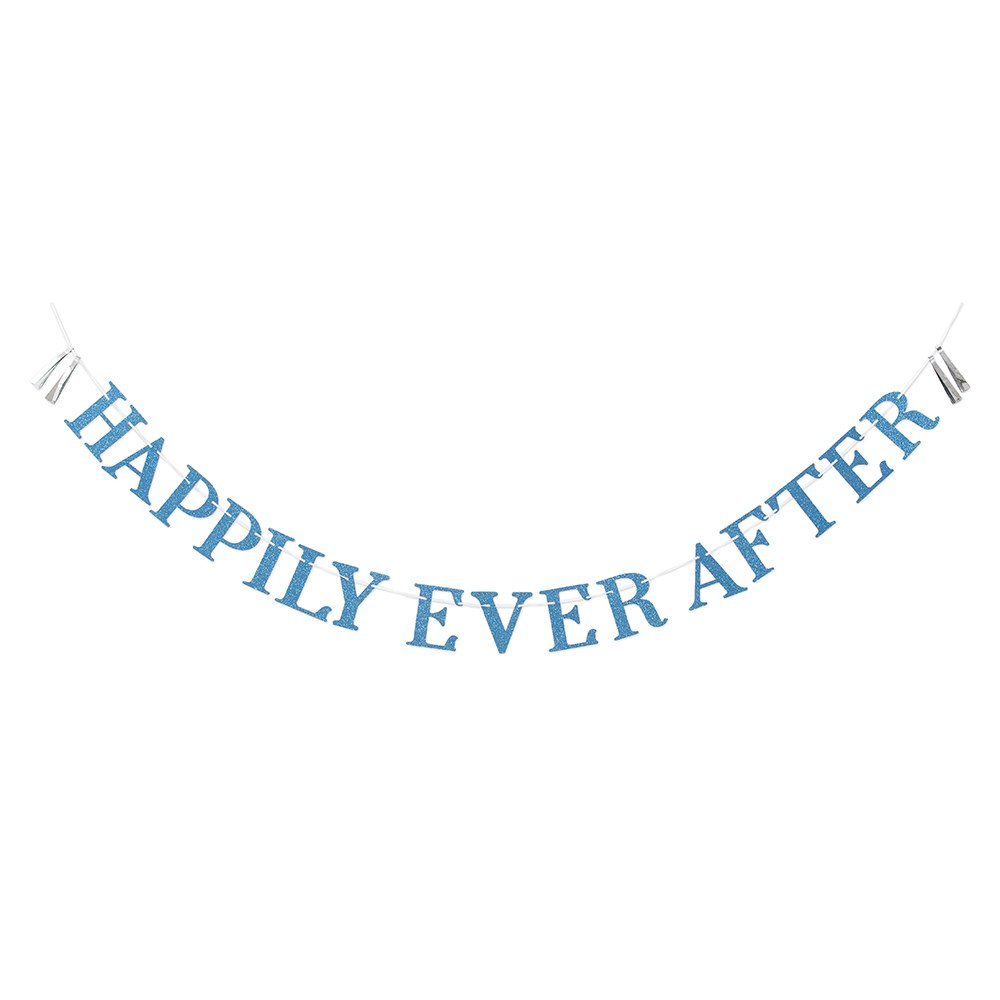 Paper Bachelorette Party Banner - Happily Ever After