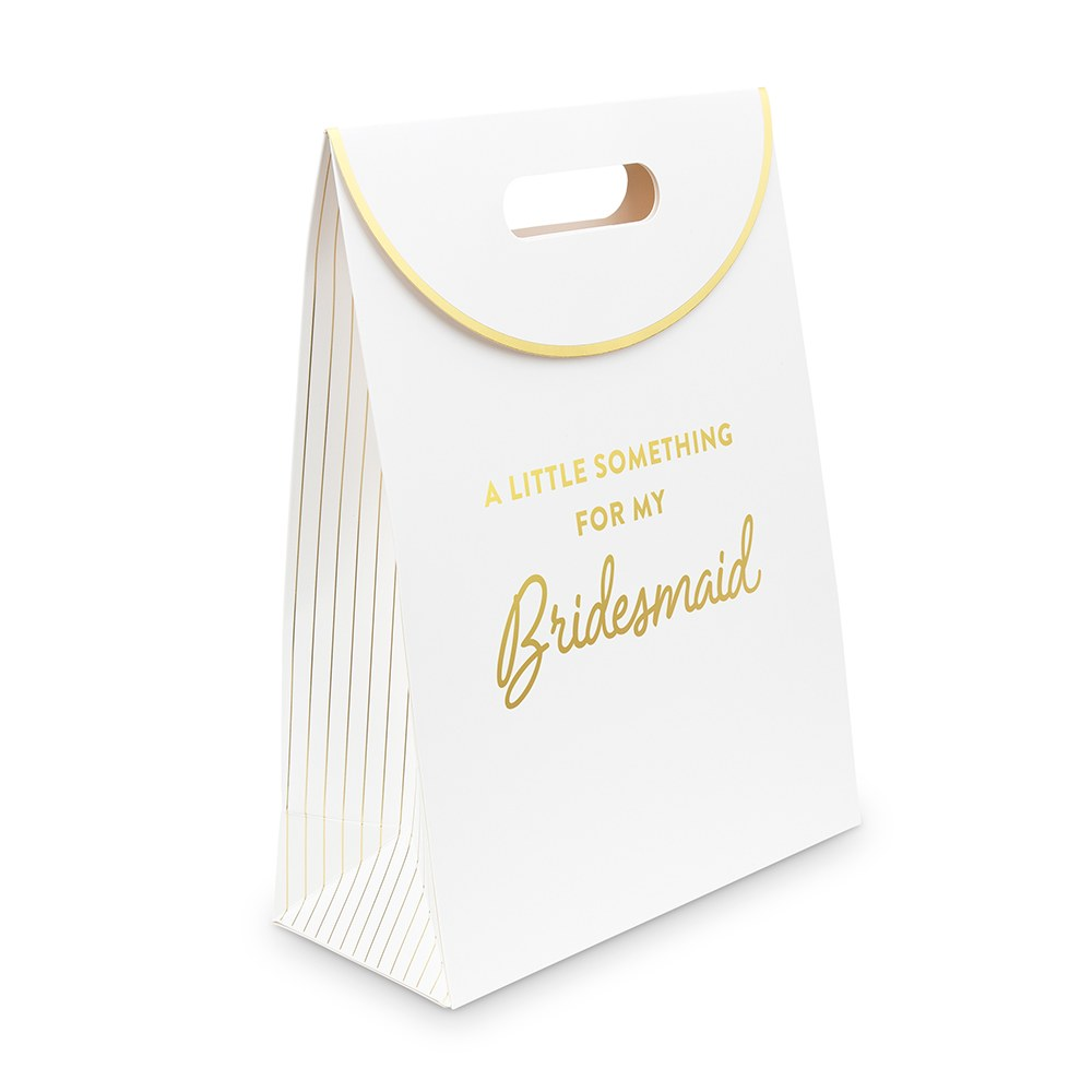 Paper Gift Bag with Handles - For My Bridesmaid