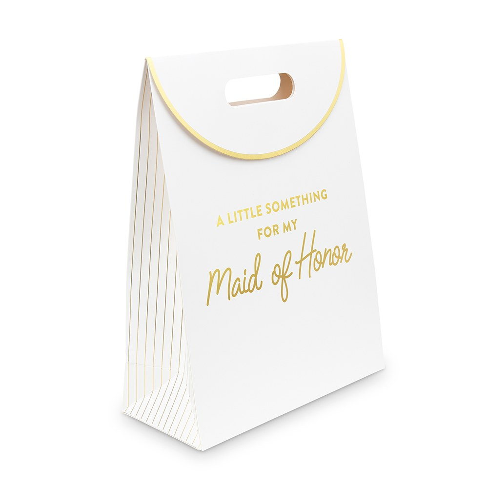 Paper Gift Bag with Handles - For My Maid of Honor