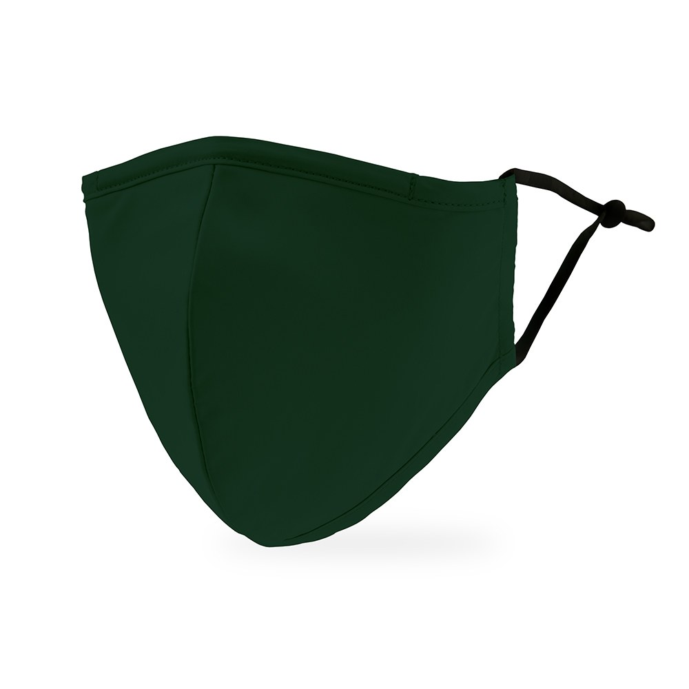 Adult Protective Cloth Face Mask - Dark Green - The Knot Shop