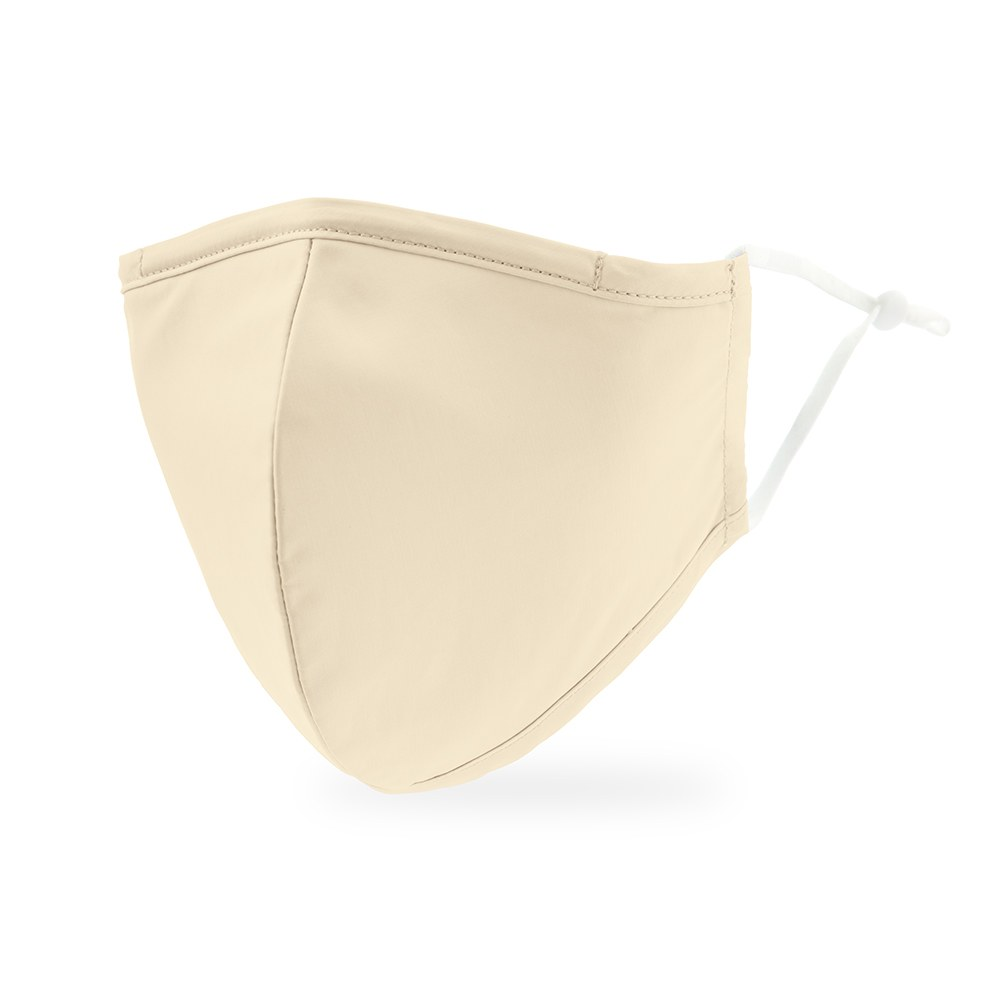 Adult Protective Cloth Face Mask - Ivory