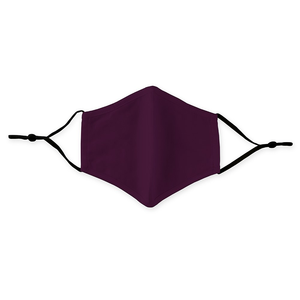 Kid's Protective Cloth Face Mask - Dark Purple