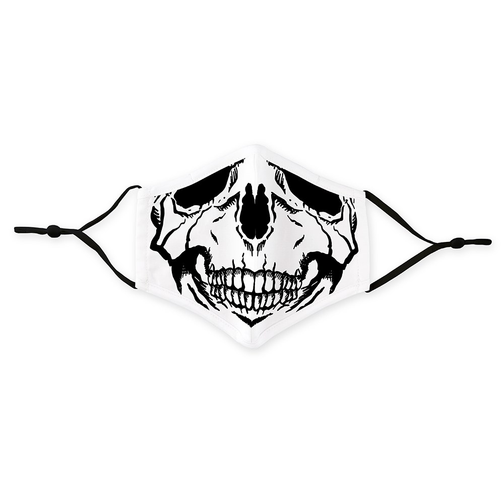 Men's Protective Cloth Face Mask - Skull