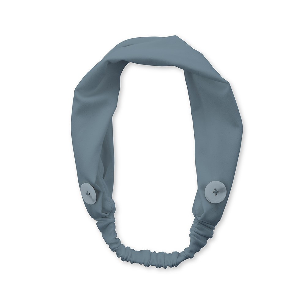 Adult Face Mask Headband Holder - Powder Blue