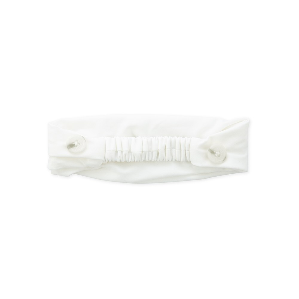 Kids Face Mask Headband Holder - White