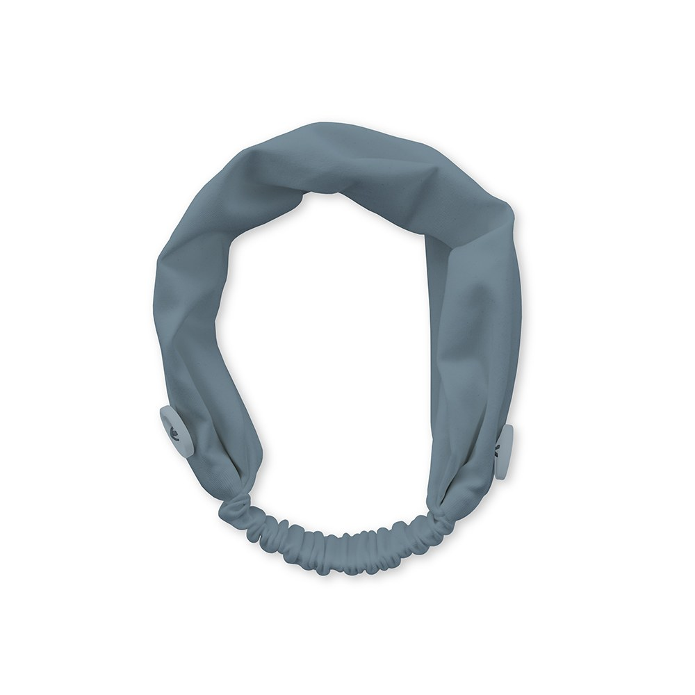 Kids Face Mask Headband Holder - Powder Blue