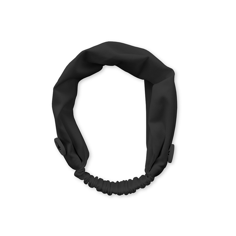 Kids Face Mask Headband Holder - Grey