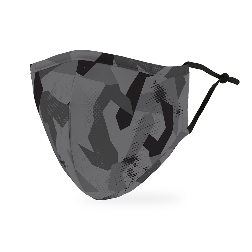 Adult Protective Cloth Face mask - Modern Black Camo