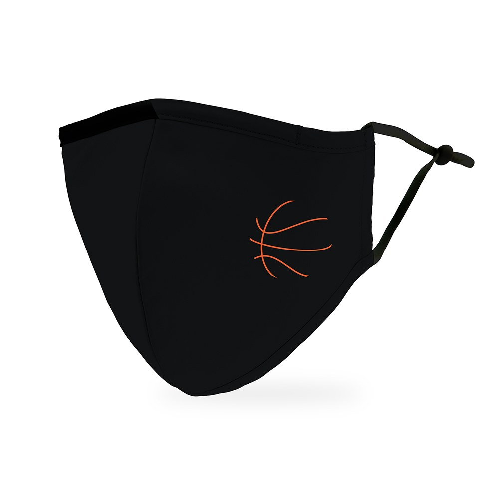 Adult Protective Cloth Face Mask - Basketball