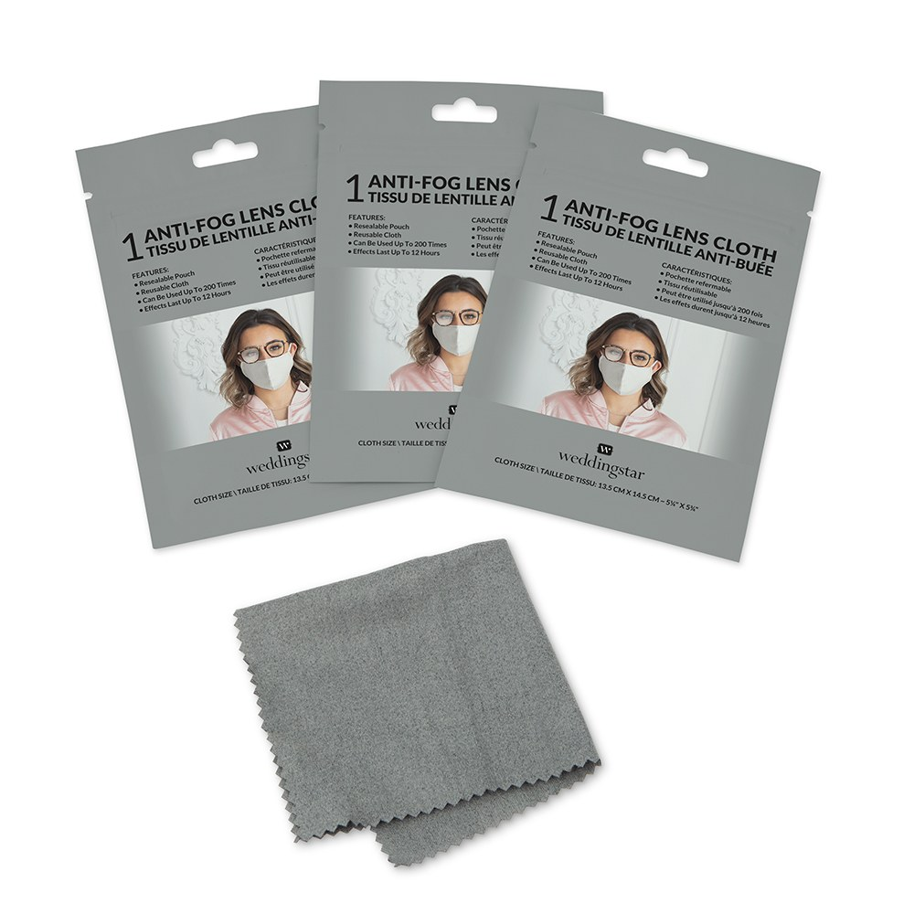 Reusable Anti-fog Eyewear Lens Cloth