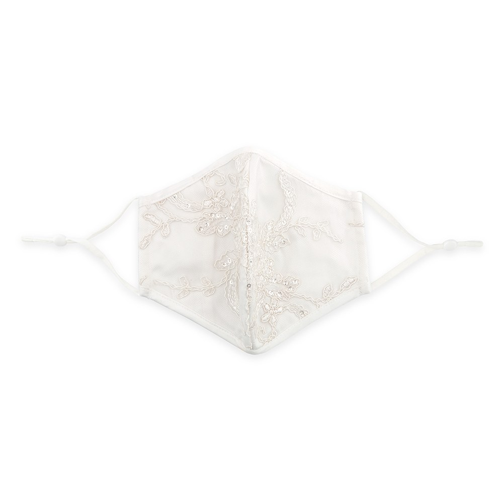 Luxury Adult Reusable, Washable Cloth Face Mask With Filter Pocket - Bridal Boutique