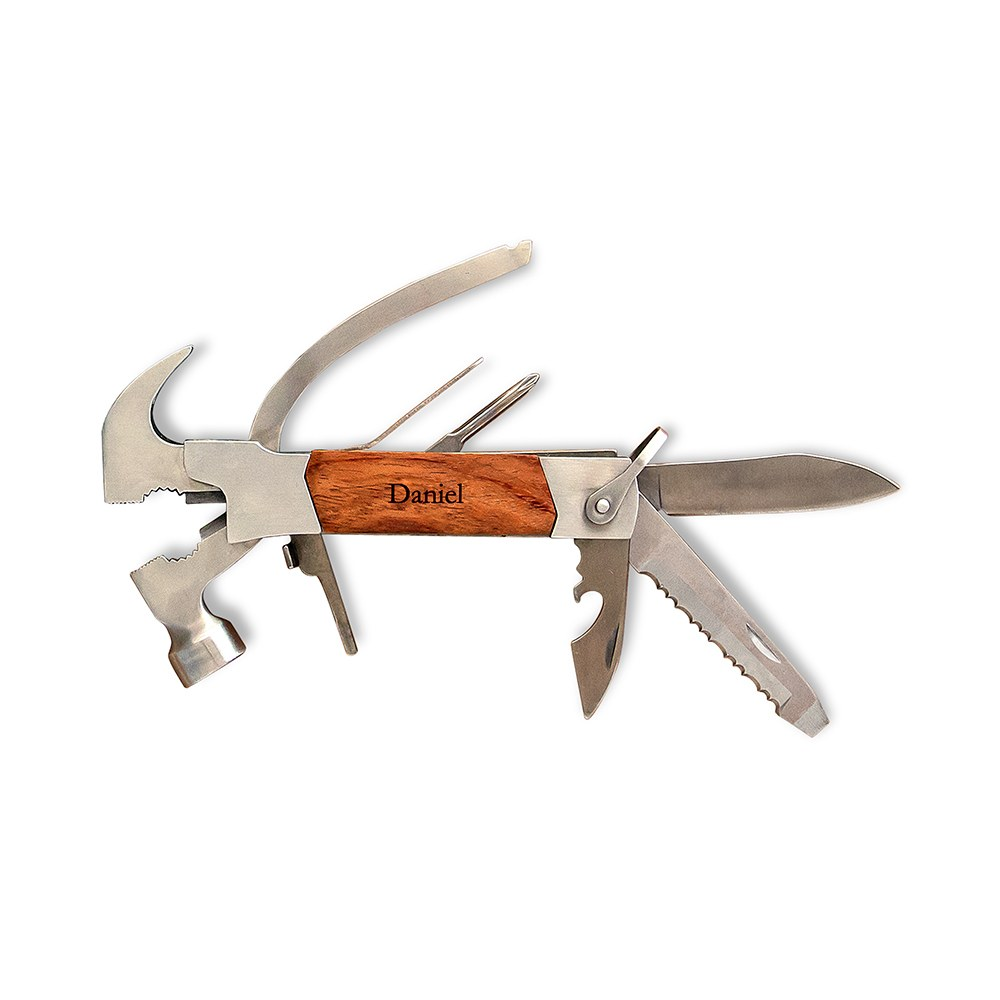 Rose Wood Handle Hammer Multi tool