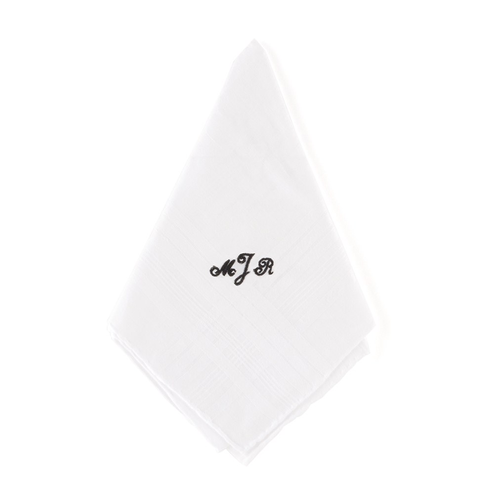Gentleman's Plain Handkerchief Accessory