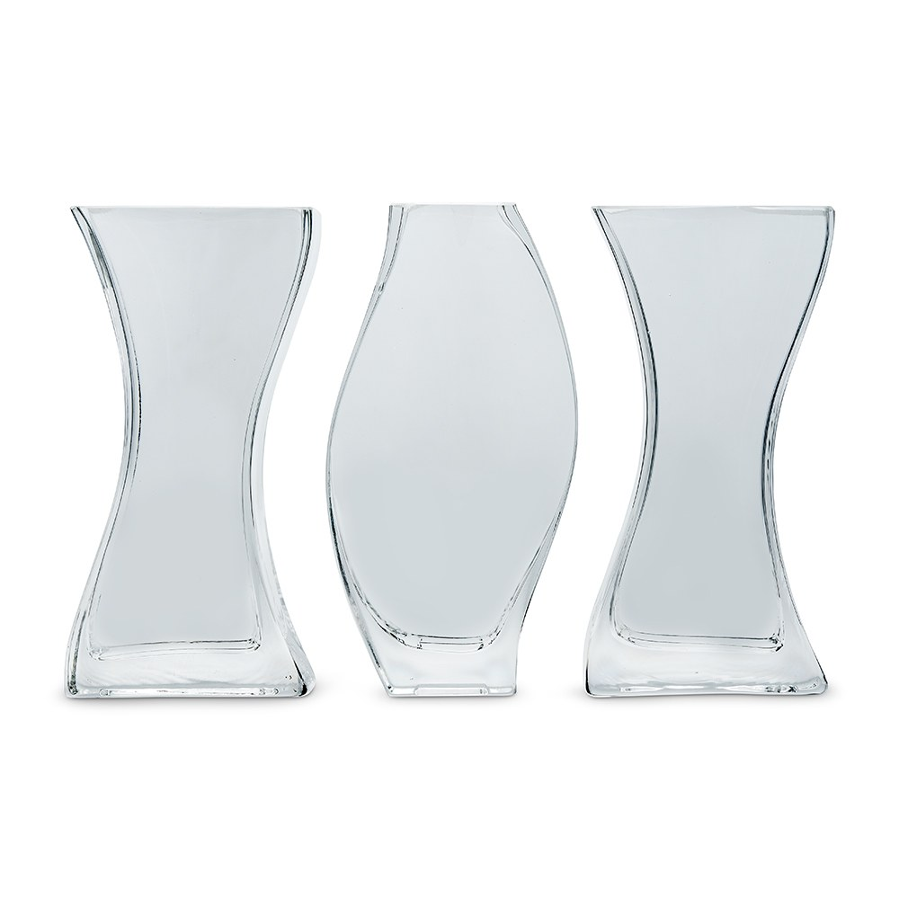 Unity Sand Ceremony Nesting 3 Piece Wedding Vase Set