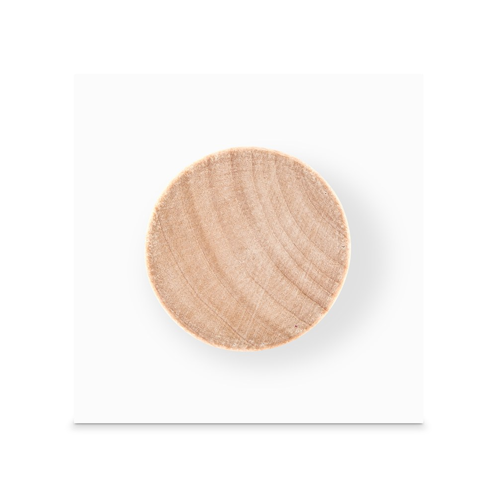 Paper Backer Card for Wooden Bottle Stopper - White