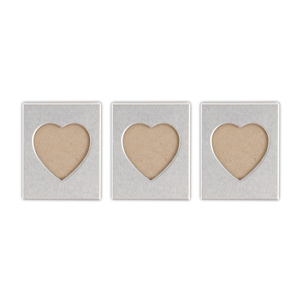 heart photo frame magnet wedding favor