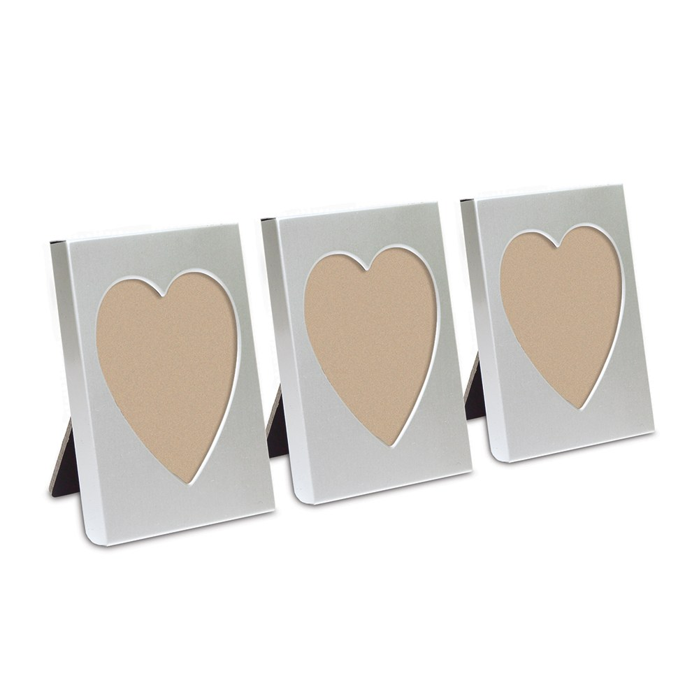 heart photo frame easel wedding favor