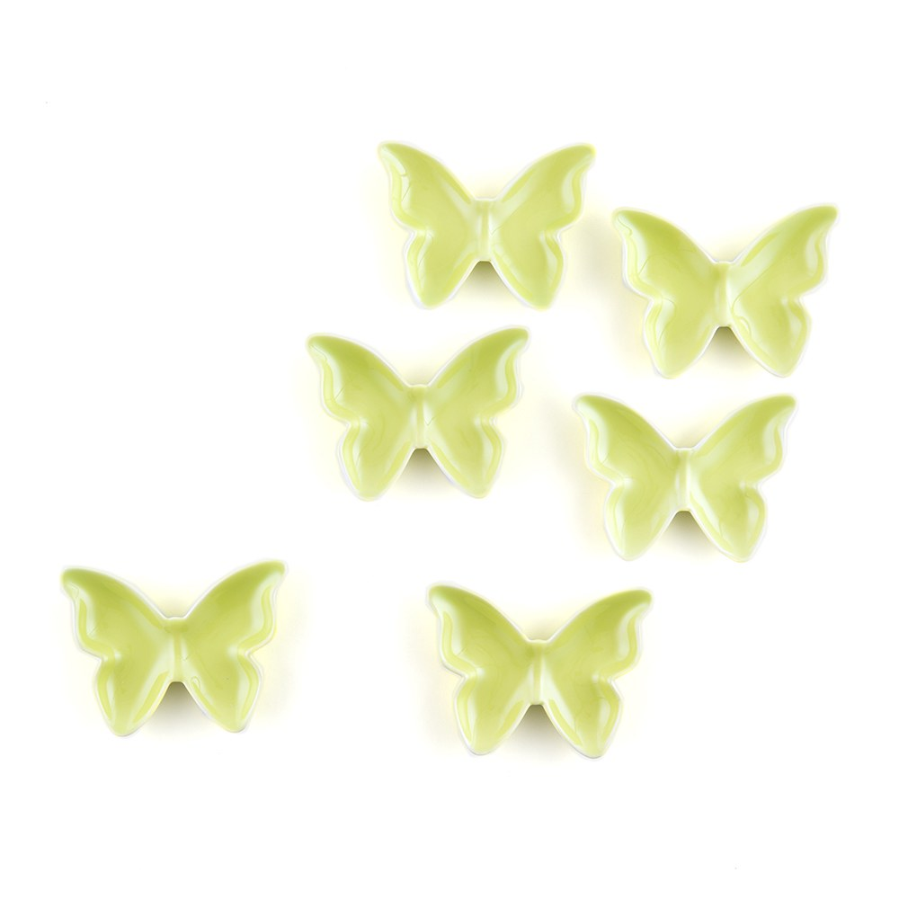 Ceramic Butterfly Wedding Reception Dishes and Holders