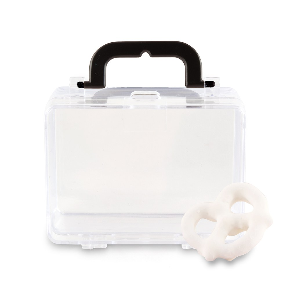 mini suitcase wedding container favor