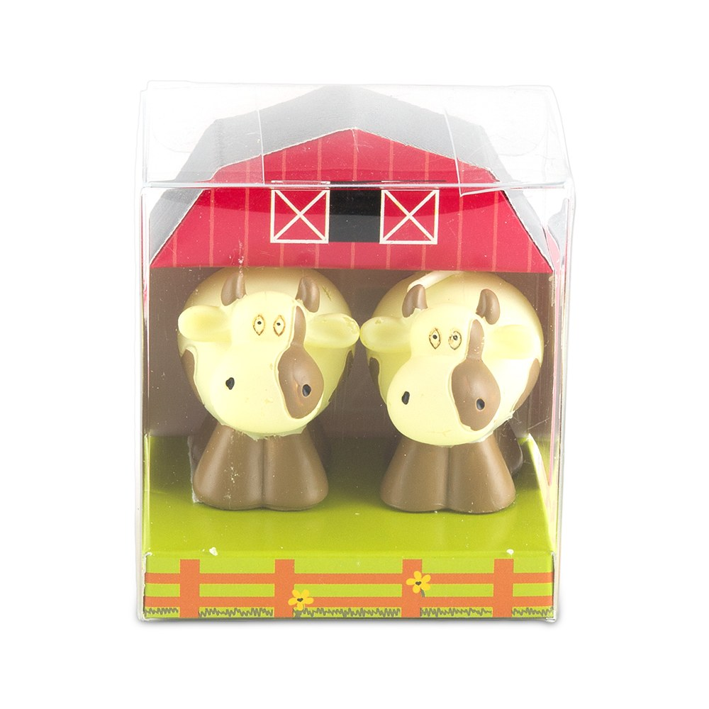 cow candle wedding favors
