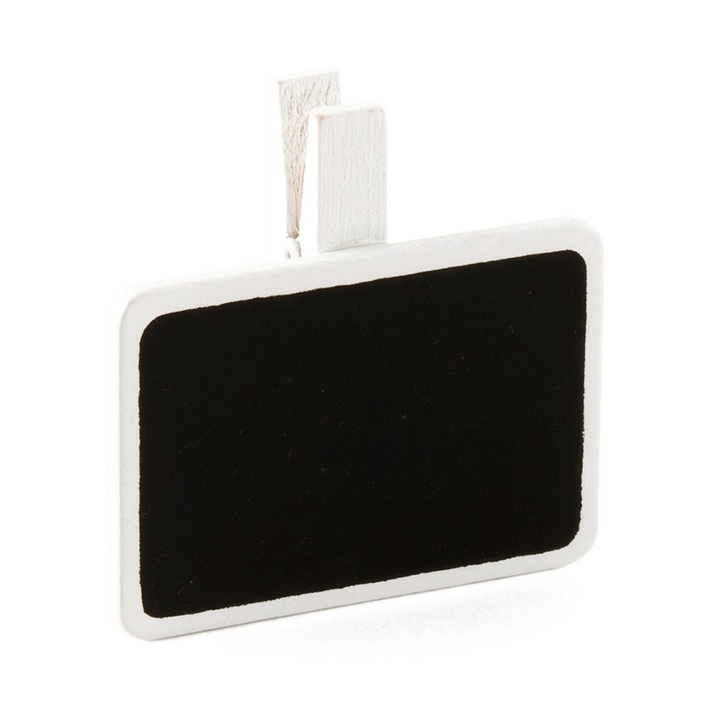 mini rectangular shaped black board clip wedding favor