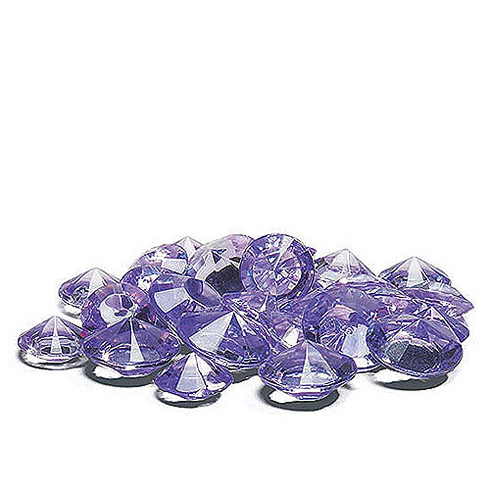 Acrylic Diamond Shaped Confetti - Lilac
