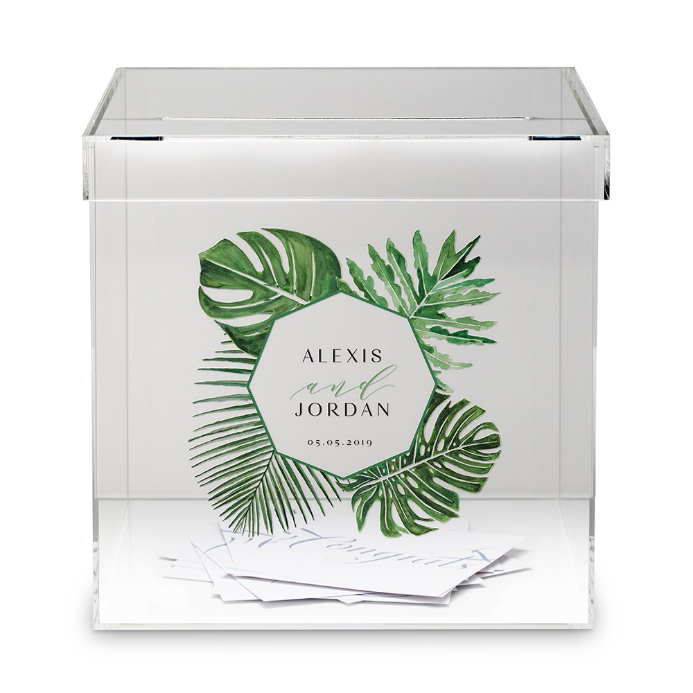 Phantom Wishing Well Acrylic Box - Greenery Printing