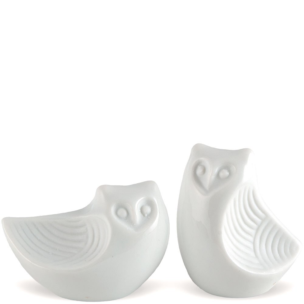 Stylized Owl Salt & Pepper Shakers