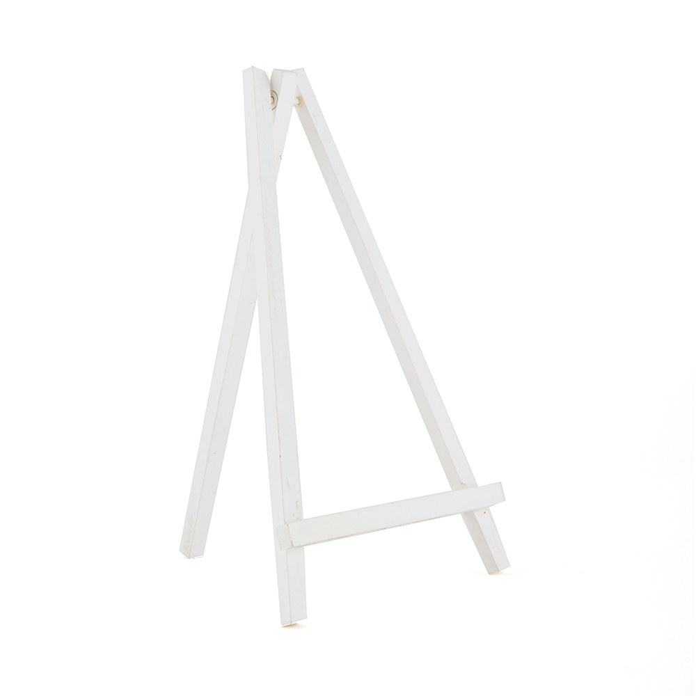 White Wooden Easels Large