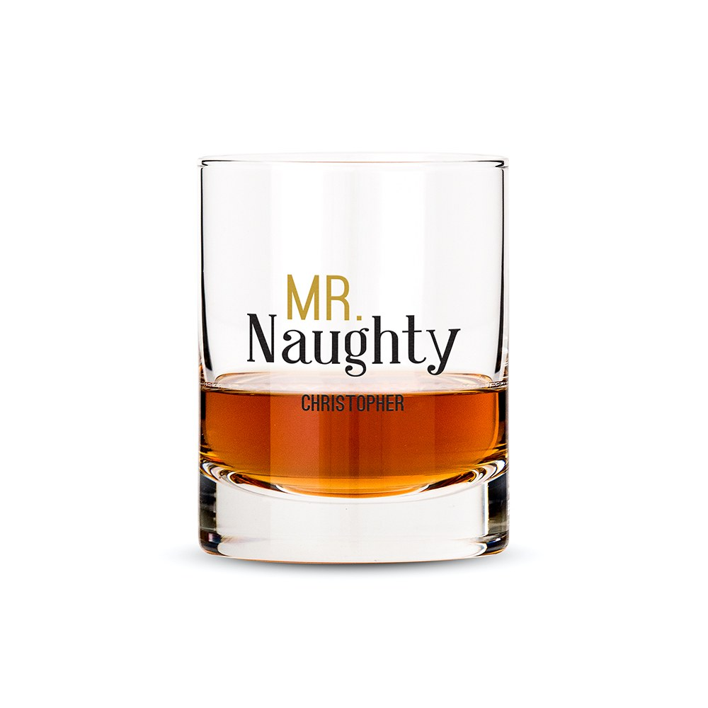 Classic Rocks Glass - Mr. Naughty Printing