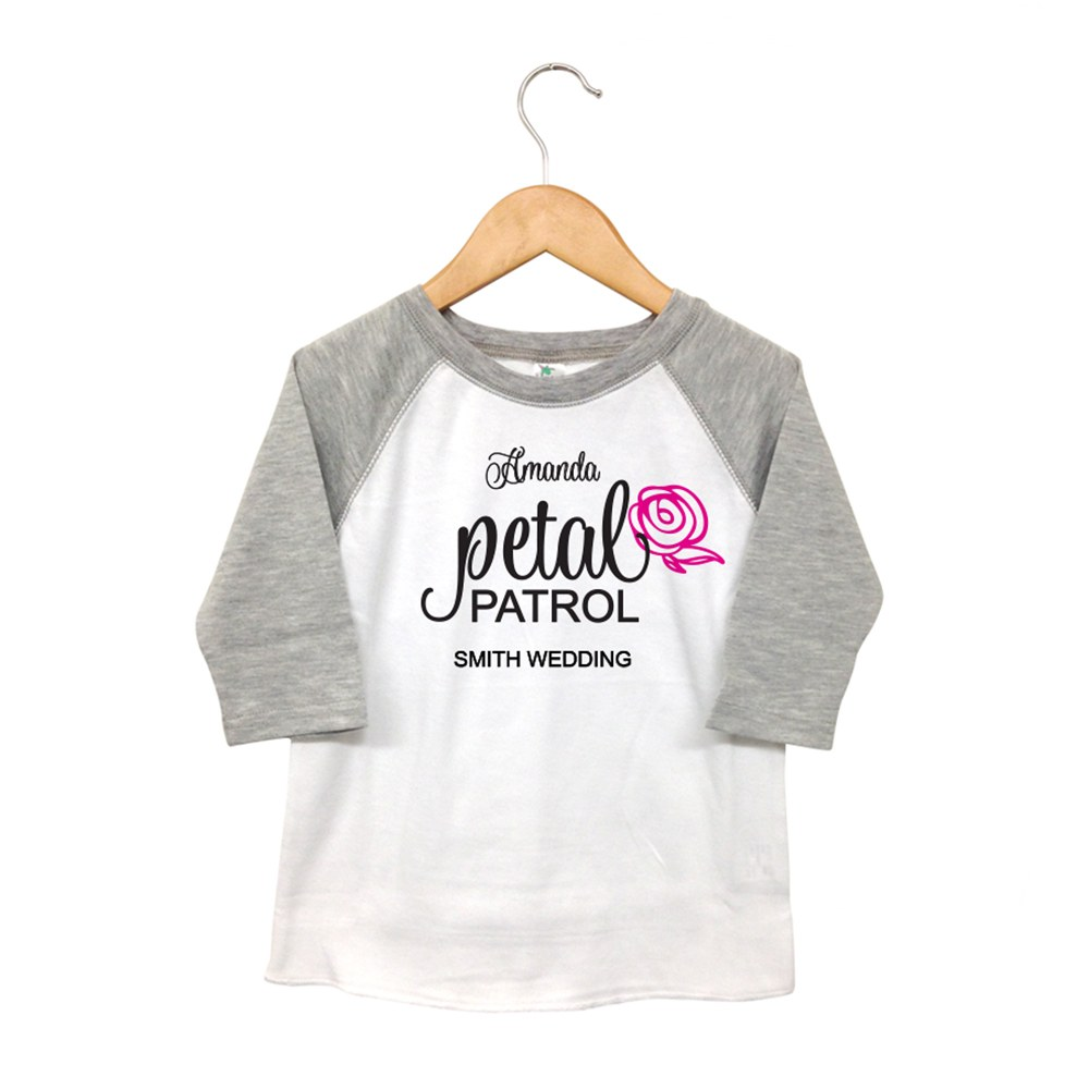 Personalized Kid's T-Shirt - Petal Patrol