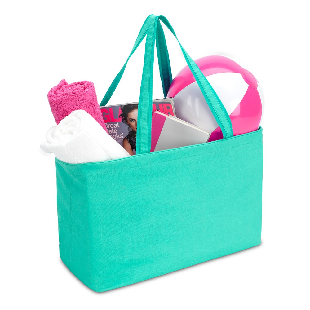 Extra-Large Carry-All Tote - Turquoise