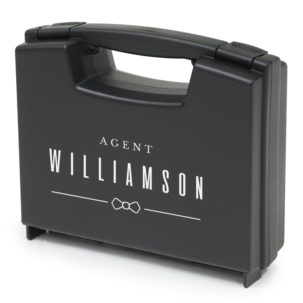 Personalized Ring Briefcase - Special Agent Ring Bearer