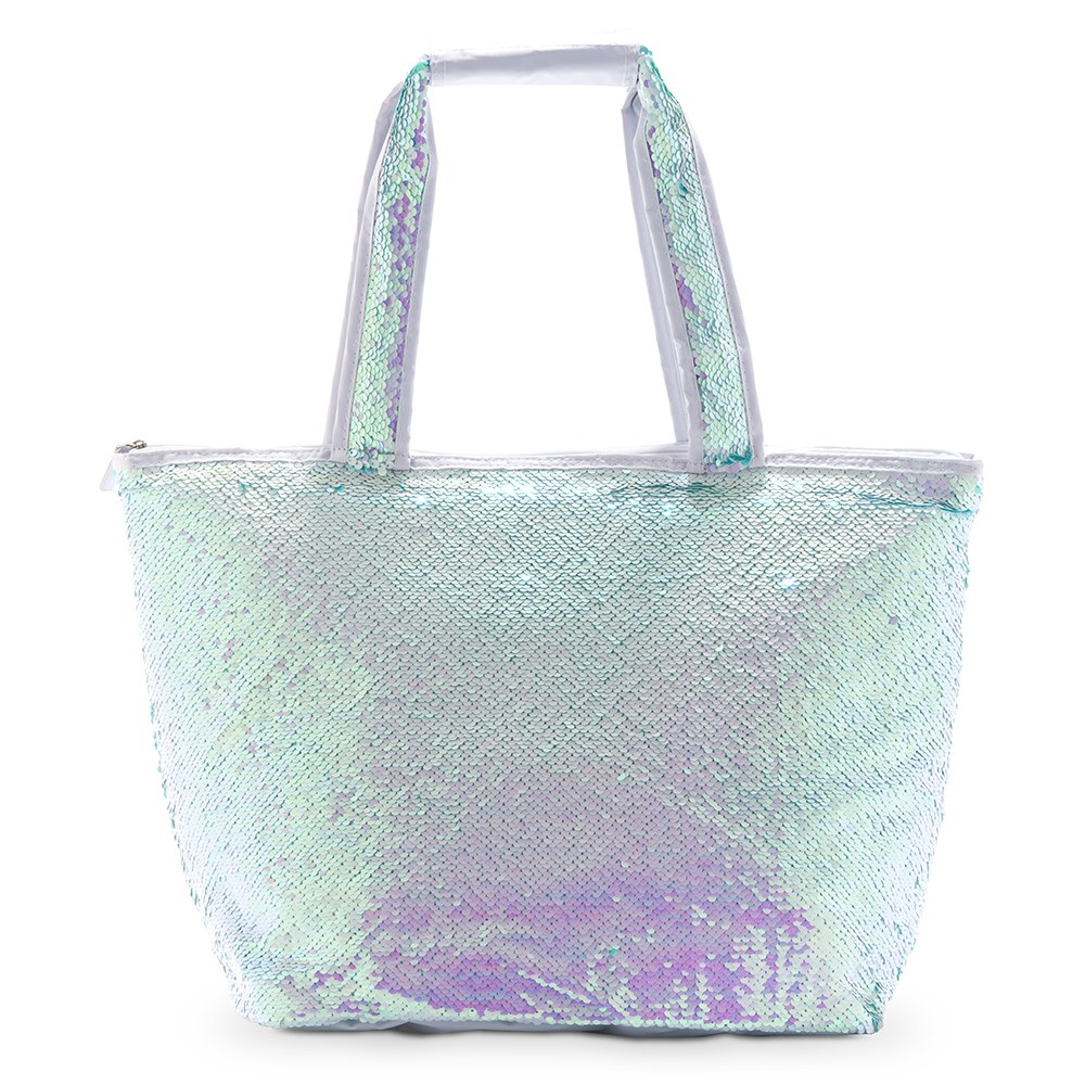 Insulated Cooler Tote Bag - Mermaid Sequin