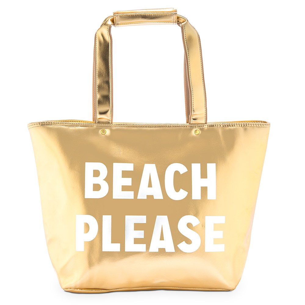 Insulated Cooler Tote Bag - Beach Please