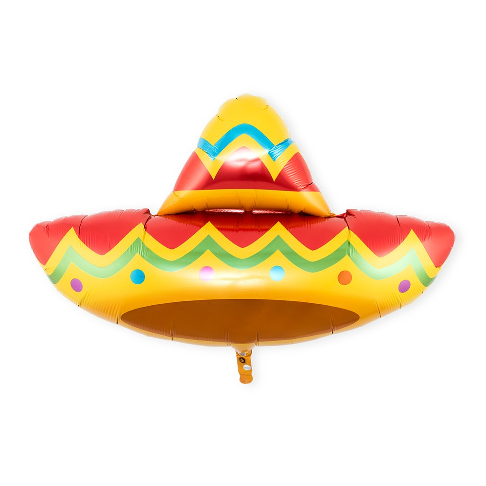 Mylar Foil Helium Party Balloon Decoration - Fiesta Sombrero