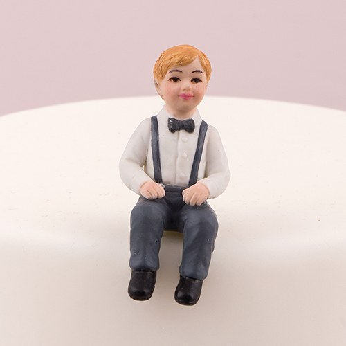 wedding cake toppers with baby boy toddler boy porcelain figurine wedding cake topper the 26625
