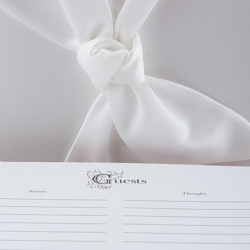 Beverly Clark Tie the Knot Collection Guest Book