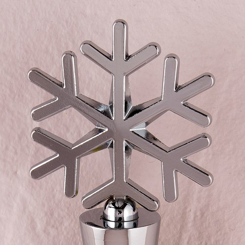 Snowflake Shaped Wedding Wine Bottle Stopper Favor
