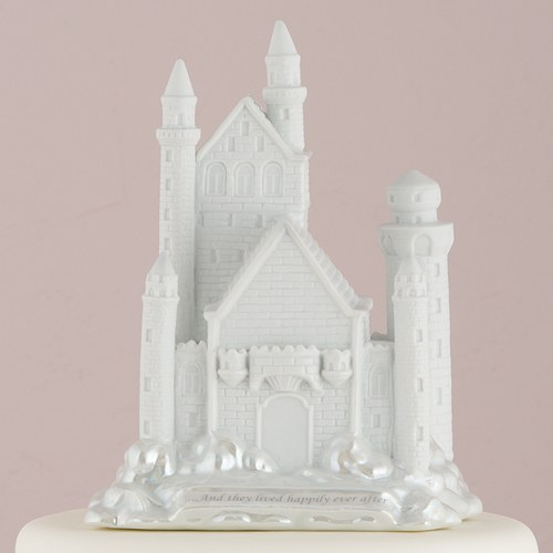 Fairy Tale Dreams Castle Cake Topper The Knot Shop