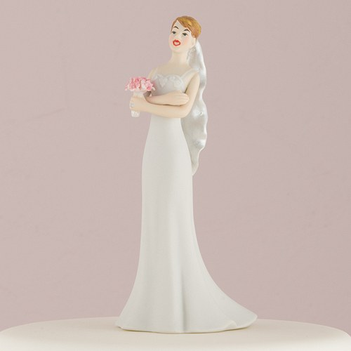Exasperated Bride Mix and Match Wedding Cake Topper