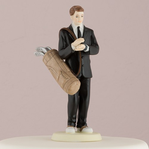 wedding cake toppers bride and groom golf golf cake toppers golfing groom wedding cake topper 26410