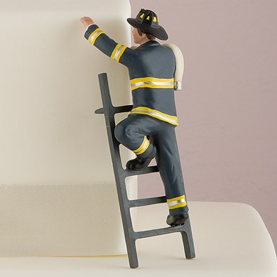 Firefighter Wedding Cake Toppers For Sale