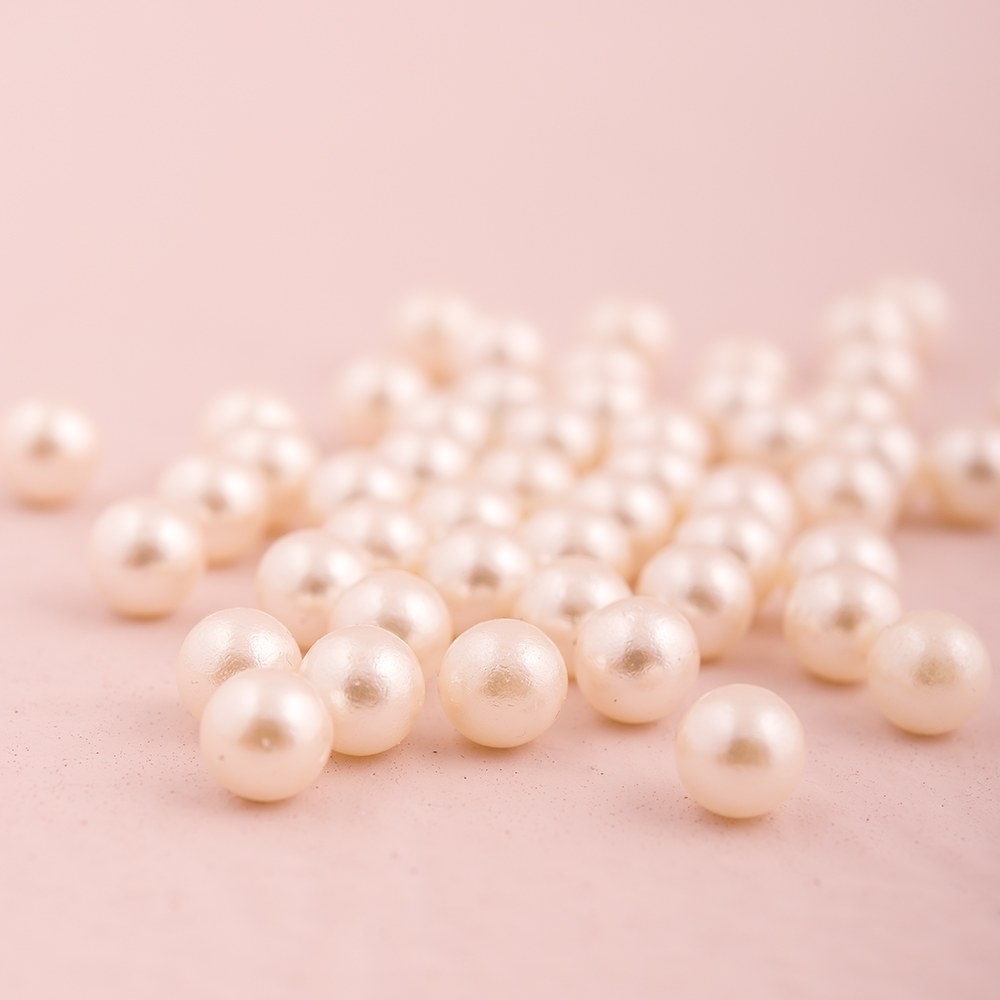 Celebration Table Pearls   Ivory