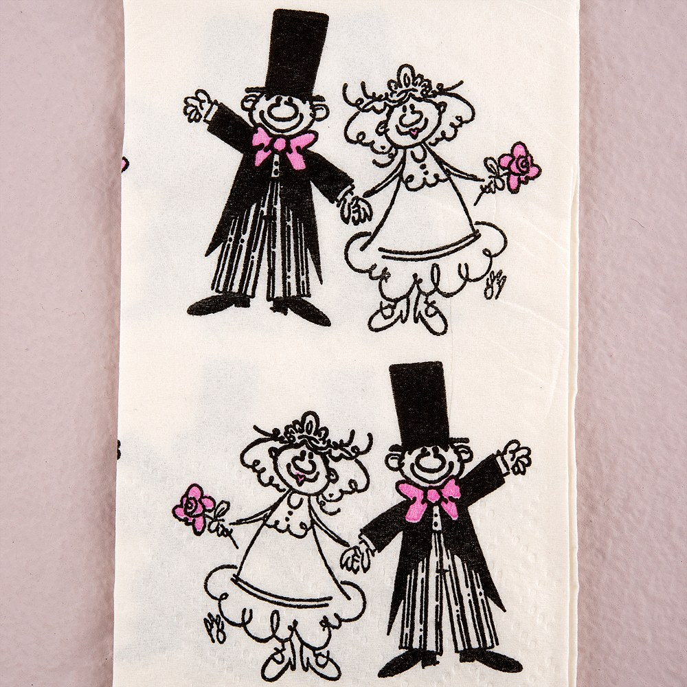 Novelty Wedding Tissues