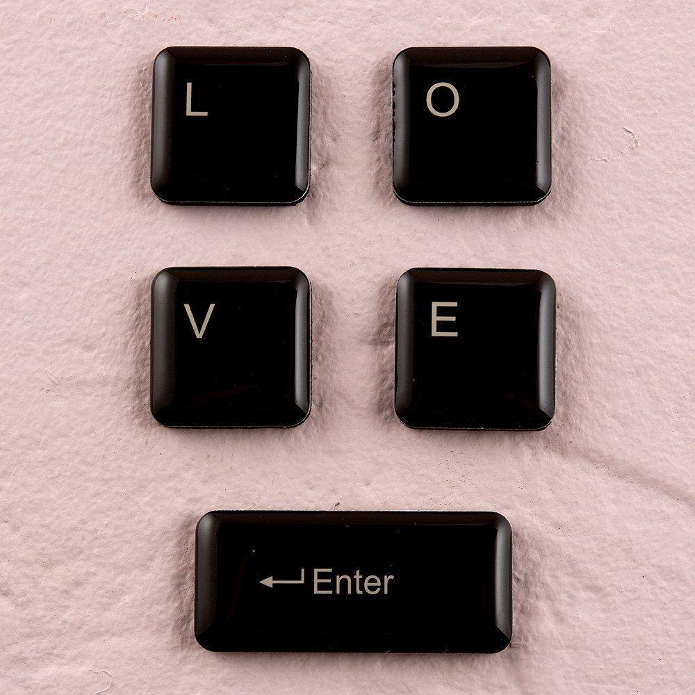 Wedding Favor LOVE Keyboard Magnets
