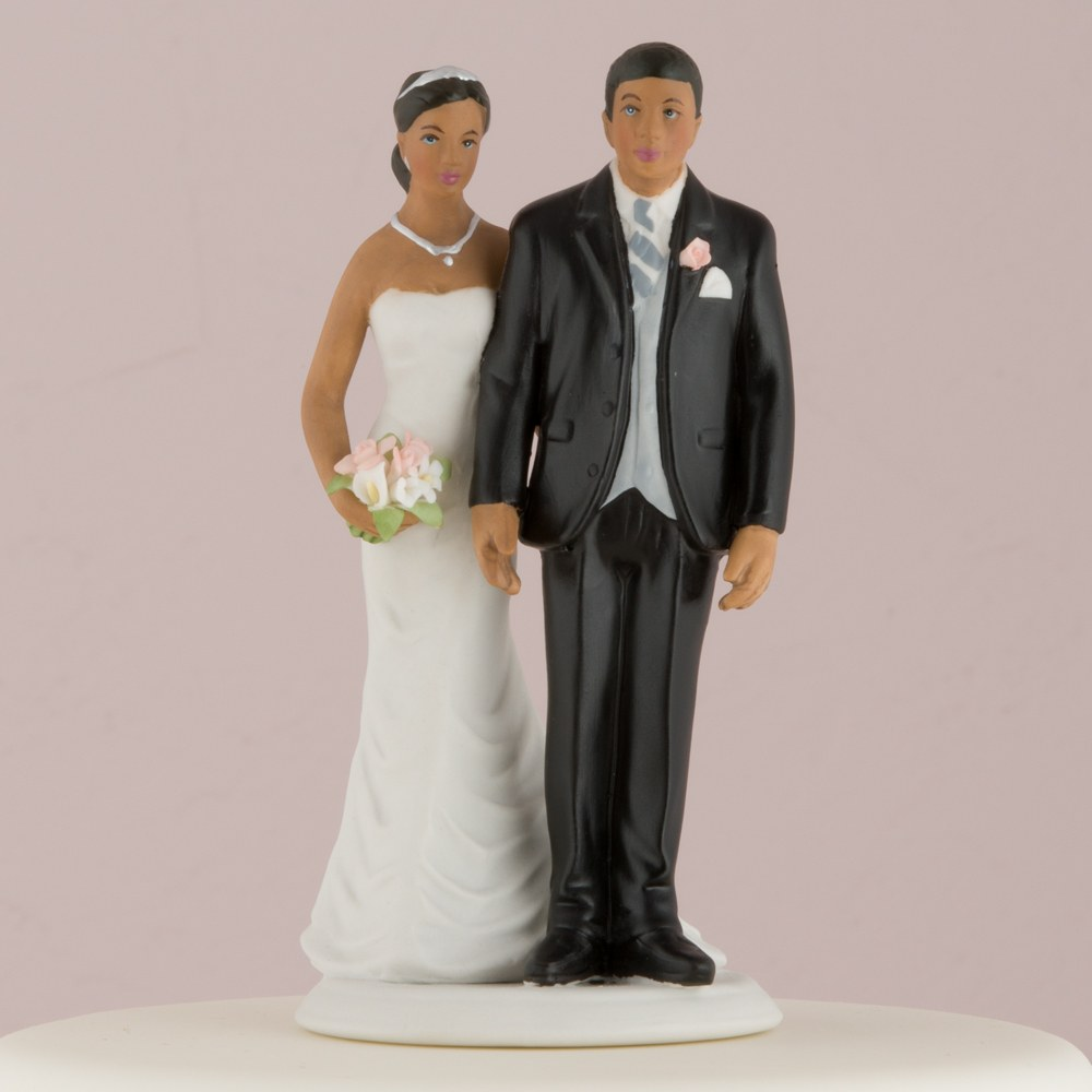 The Love Pinch Couple Wedding Cake topper