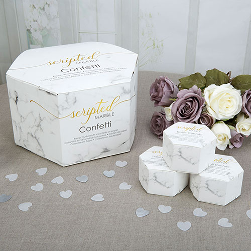 Scripted Marble Throwing Tissue Confetti