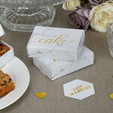 Scripted Marble Cake Boxes - 10 Pack