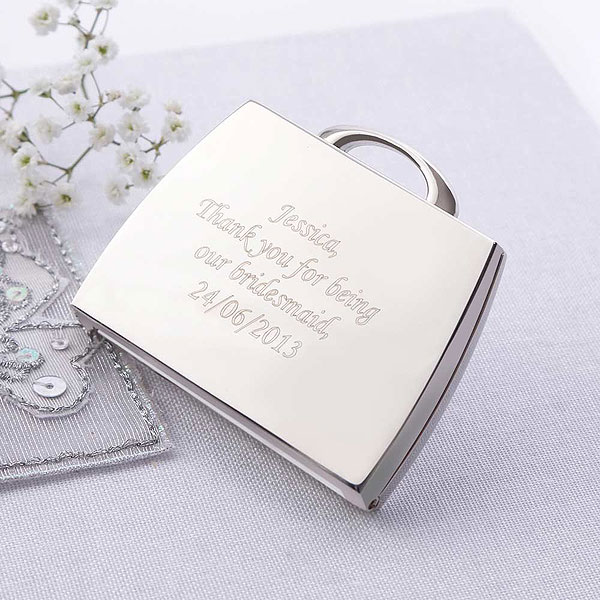Personalized Handbag Compact Mirror